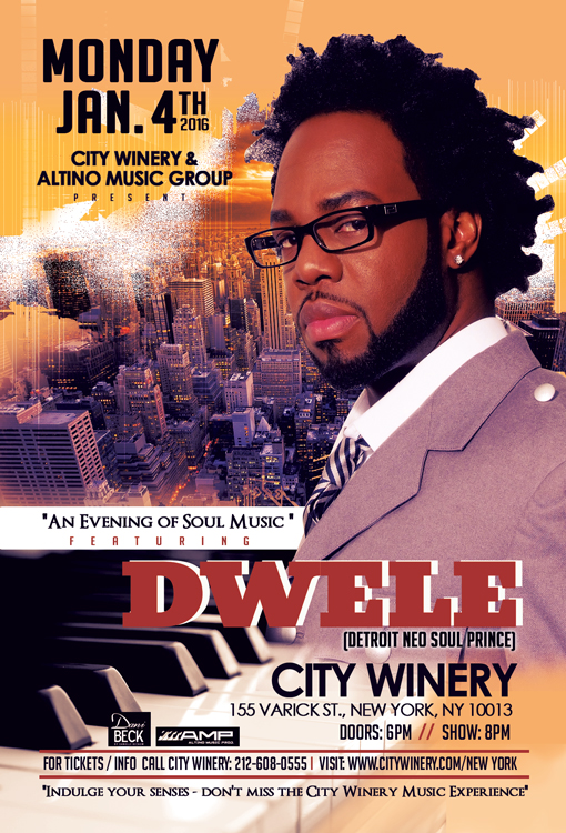 Dwele City Winery Flyer Jan 2016