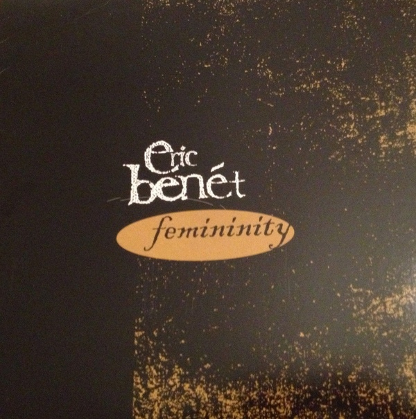 Eric Benet Femininity Single Cover