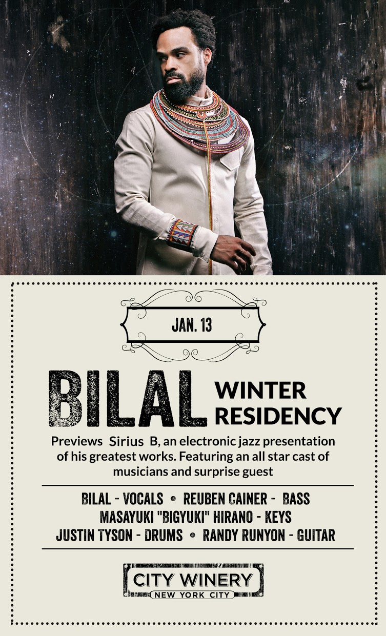 Bilal City Winery Flyer