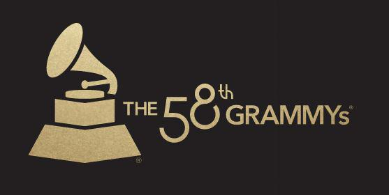 58th Grammy Awards Logo