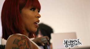 """K. Michelle Introduces """"More Issues Than Vogue"""" at Album Listening Event in NYC (Photos)"""