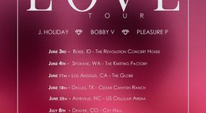 """J. Holiday, Bobby V., and Pleasure P Announce """"Kings of Love"""" Tour Dates"""