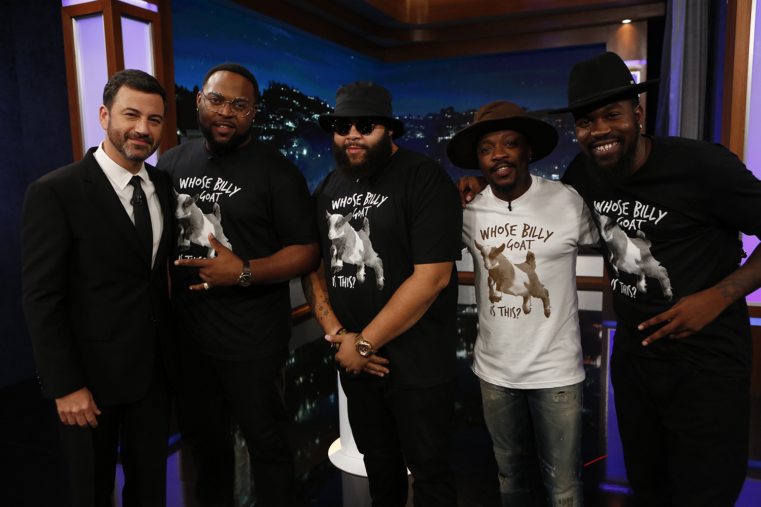 Anthony Hamilton Jimmy Kimmel