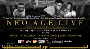 Neo Age Live Returns Featuring V. Bozeman & Avery Wilson Sponsored by YouKnowIGotSoul.com