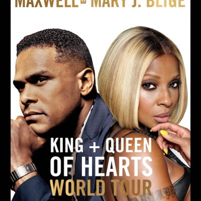 Maxwell Mary J Blige King and Queen of Hearts World Tour