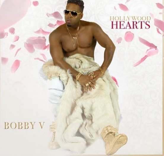 Bobby V Hollywood Hearts Album Cover