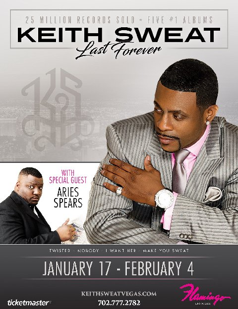 Keith Sweat Las Vegas Residency Last Forever