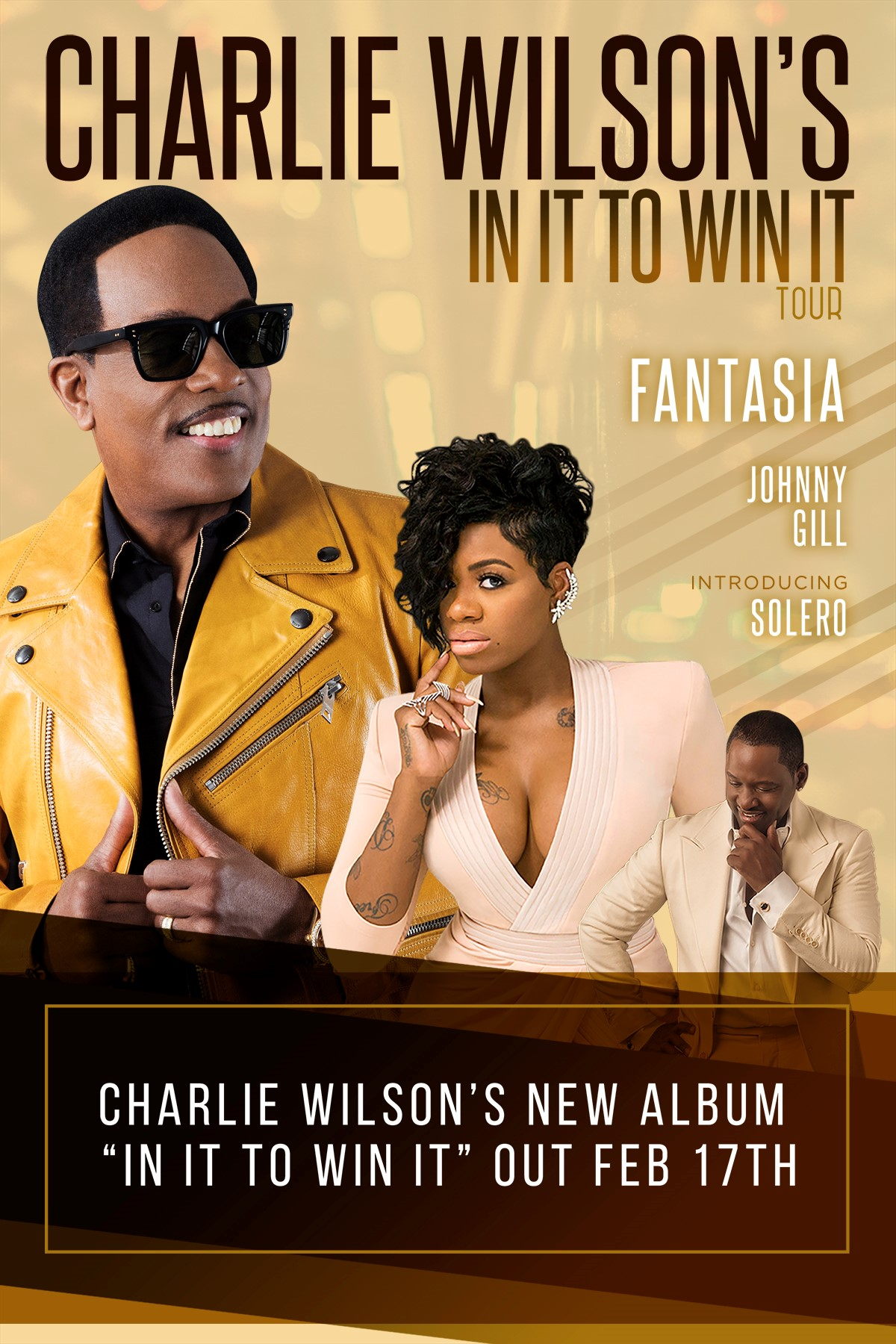Charlie Wilson In It to Win It Tour
