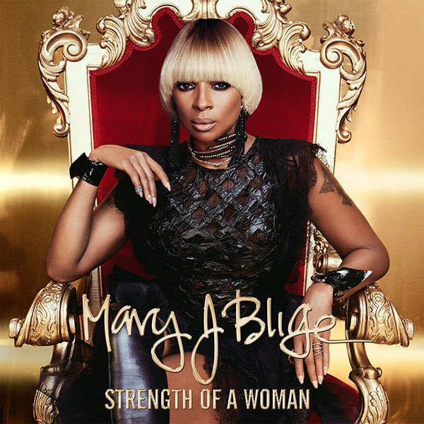 Mary J Blige Strength of a Woman Album Cover