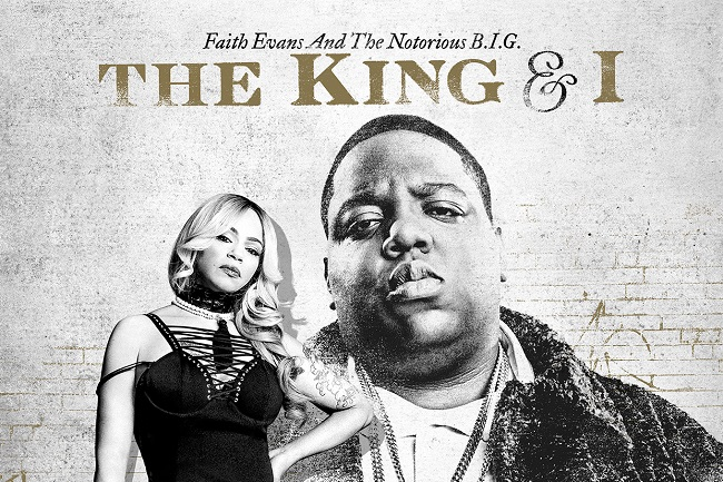Faith Evans the King and I slider