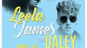 Giveaway: Win Tickets to See Leela James & Daley Perform at the Apollo Theater 4/15