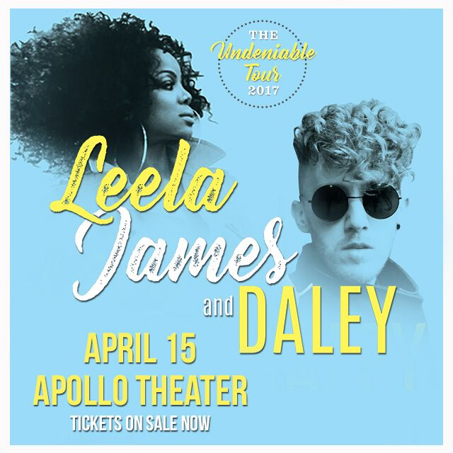 Leela James Daley Apollo Theater