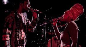 BlaqueStone Create a Unique Erykah Badu/TLC/Lauryn Hill/Maxell Mashup Live for The D.C. Soul Stage