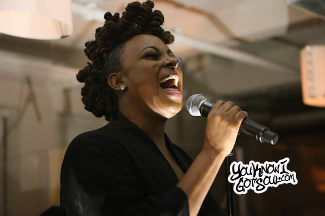 """Ledisi Performing Her New Single """"High"""" Live at NYC Press Event (Video)"""