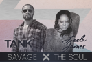 "Tank and Leela James Announce ""The Savage X The Soul"" Joint Tour"