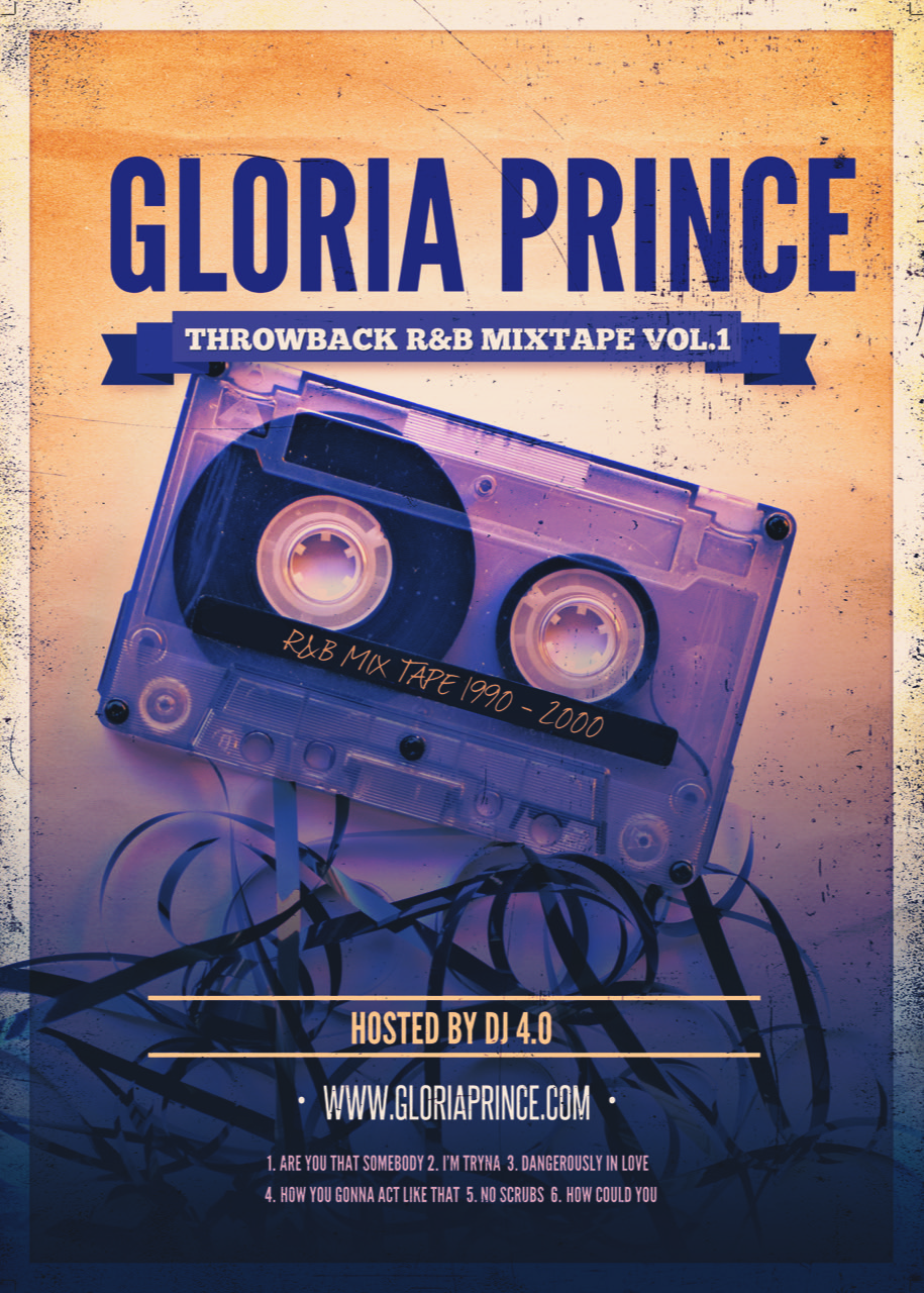 Gloria Prince Throwback Mixtape Vol 1