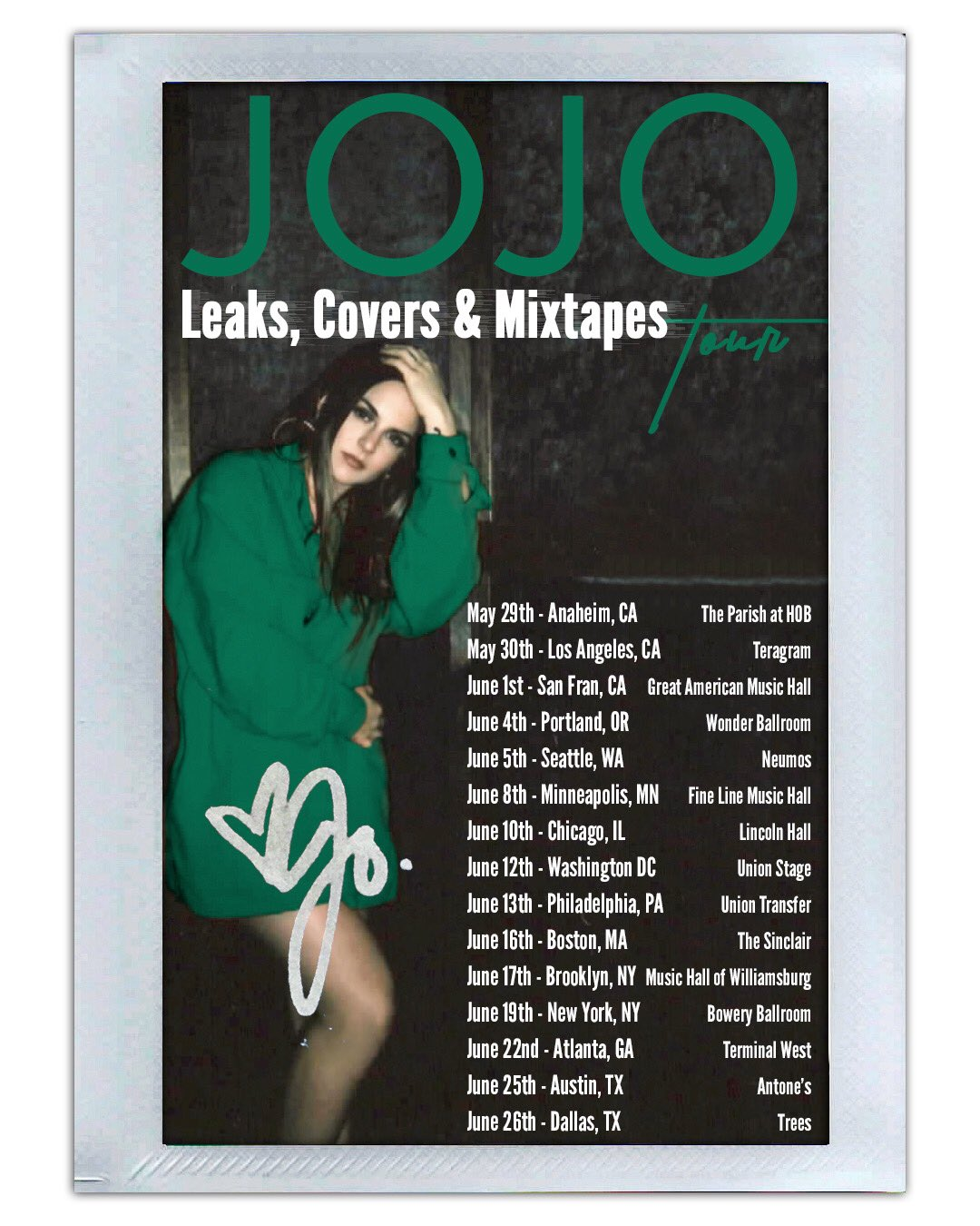 JoJo Leaks Covers Mixtapes