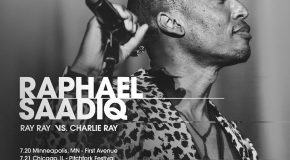 "Raphael Saadiq Announces ""Ray Ray vs. Charlie Ray"" Tour"