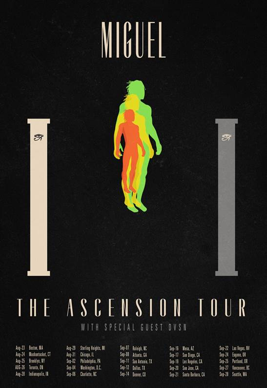 Miguel The Ascension Tour