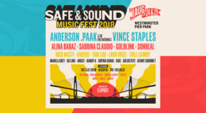 Safe & Sound Music Fest Announces Lineup Including Anderson .Paak & Sabrina Claudio