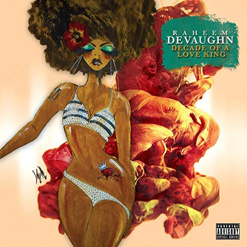 Raheem DeVaughn Decade of a Love King Album Cover