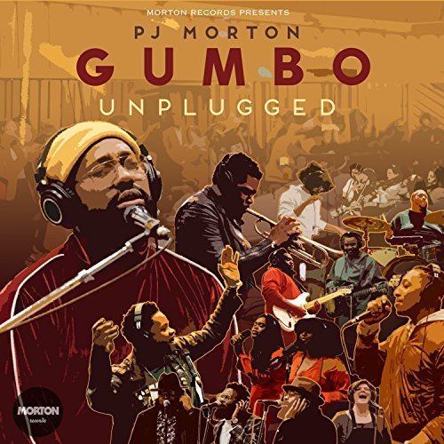 PJ Morton Gumbo Unplugged Album Cover