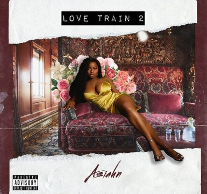 Asiahn Love Train 2 Album Cover