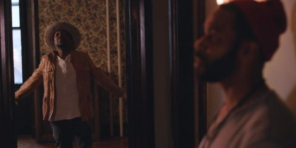 Omari Hardwick hOme Anthony Hamilton