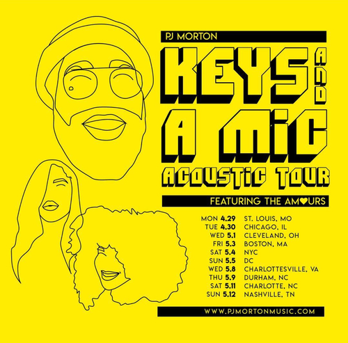PJ Morton Keys and a Mic Tour