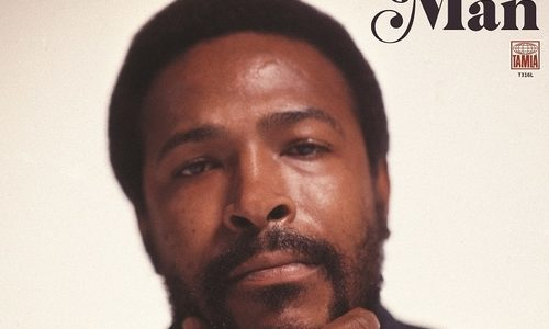 Marvin Gaye You're the Man Album Cover