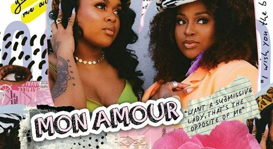 The Amours Mon Amour EP Cover