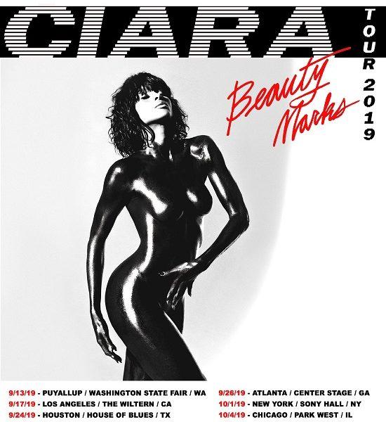 Ciara Beauty Marks Tour