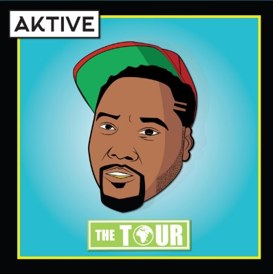 DJ Aktive The Tour Album Cover