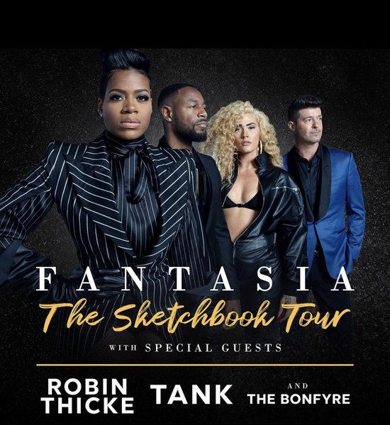 Fantasia Tour Tank Thicke Bonfyre