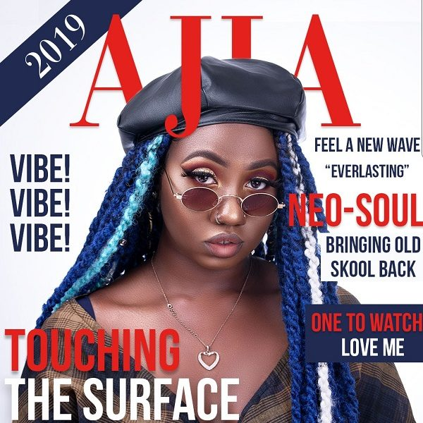 AJia Touching the Surface EP Cover