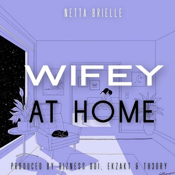 Netta Brielle Wifey at Home