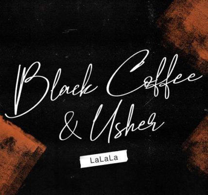 black coffee usher la la la