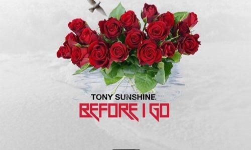 Tony Sunshine Before I Go