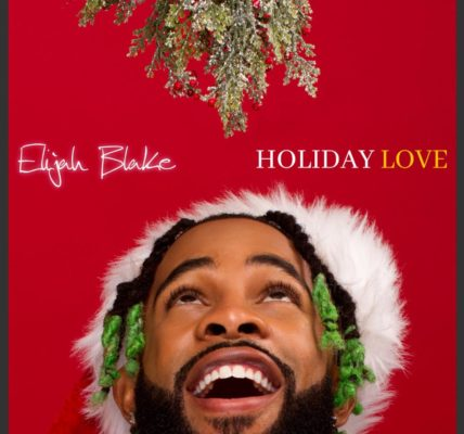 Elijah Blake Holiday Love EP Cover