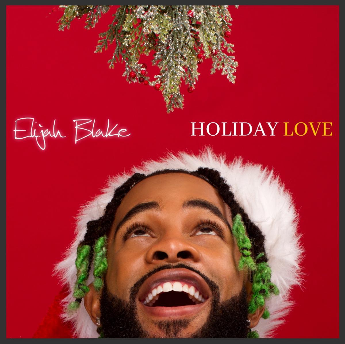 Elijah Blake Holiday Love EP Cover