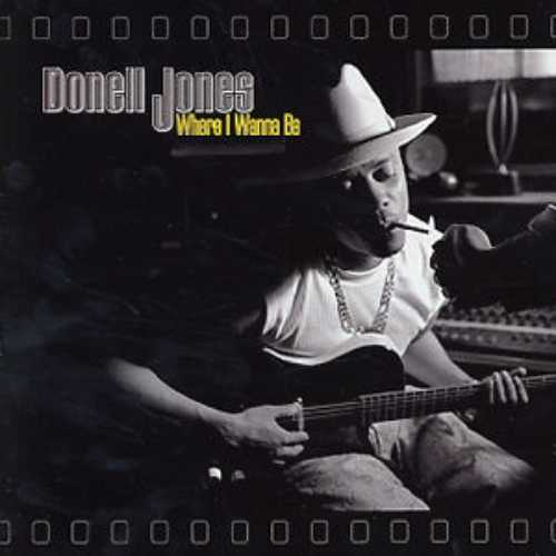 Donell Jones Where I Wanna Be Album Cover
