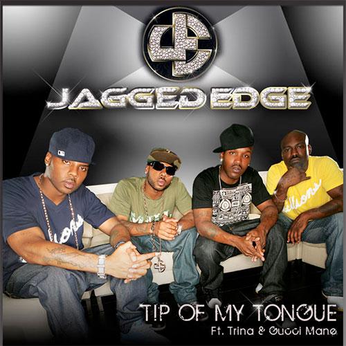 jagged edge tip of my tongue