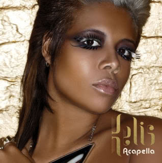 kelis acapella single cover