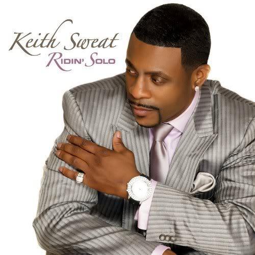 Keith Sweat Ridin Solo Album Cover