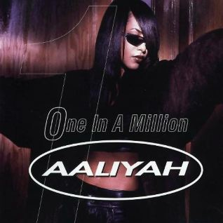 Aaliyah One in a Million Single Cover
