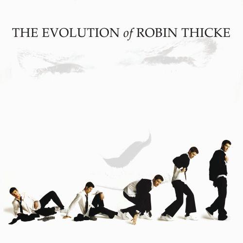 The Evolution of Robin Thicke Album Cover