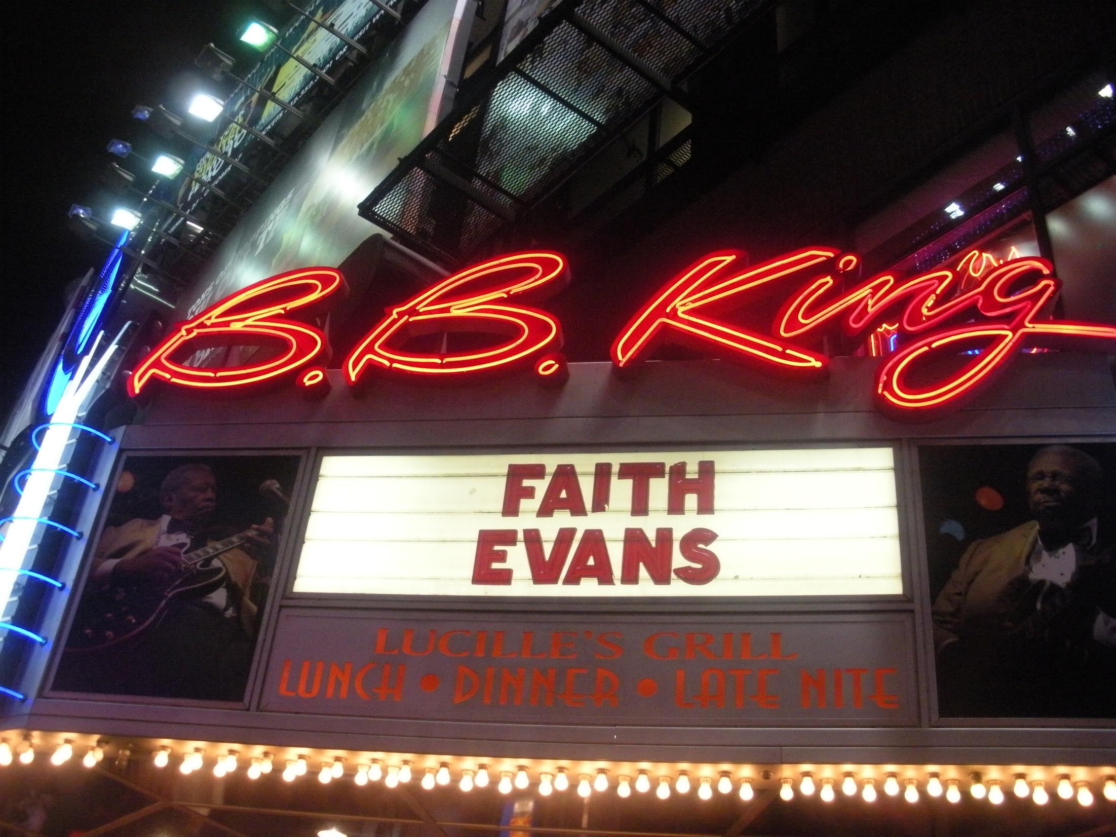 Faith Evans BB Kings Live Oct 2010