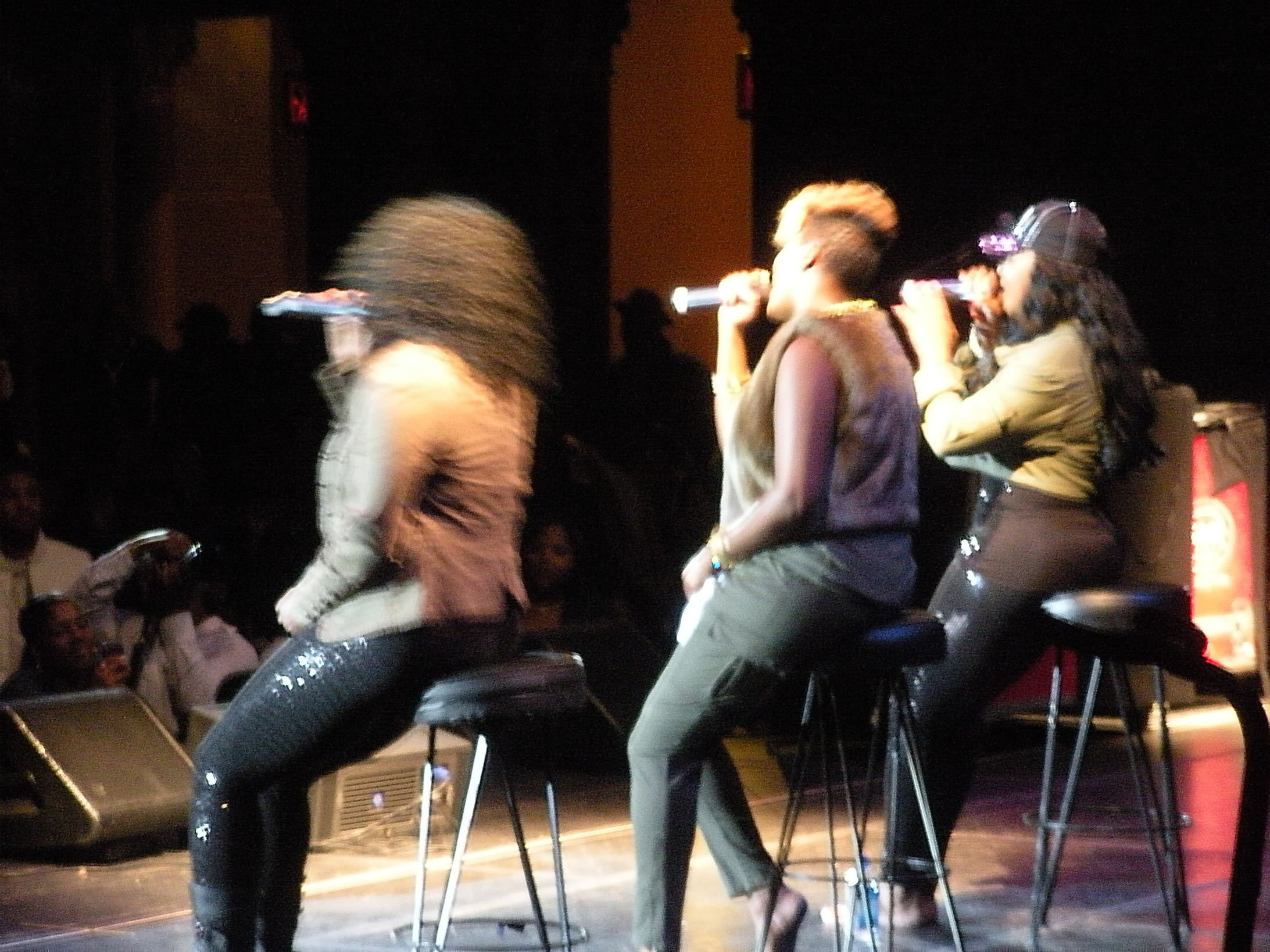 SWV Live Paradise Theater Oct 2010