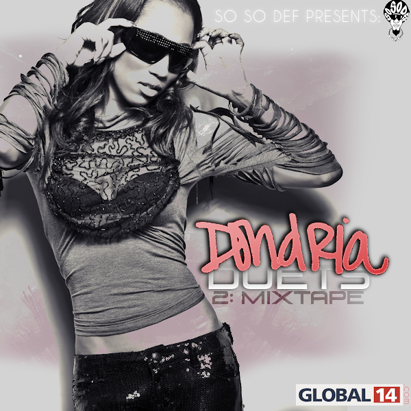 Dondria Duets Mixtape Cover