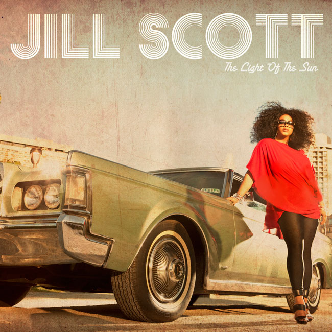Jill Scott The LIght of the Sun Album Cover